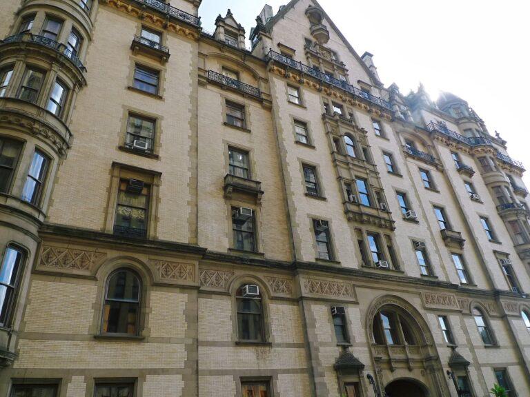 ニューヨークの集合住宅の高級賃貸